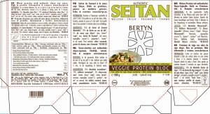 Etiket Veggie Protein Bloc – Tarwe 1000g (2019)