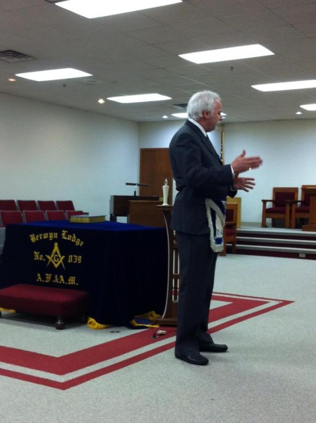 Bro Schlosser speaking