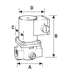 solenoid gas safety shut off valve 2  [ 2598 x 2598 Pixel ]