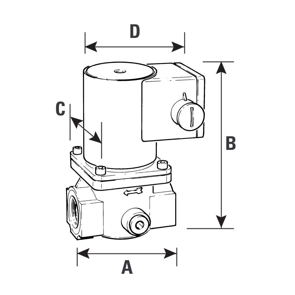 medium resolution of solenoid gas safety shut off valve 2