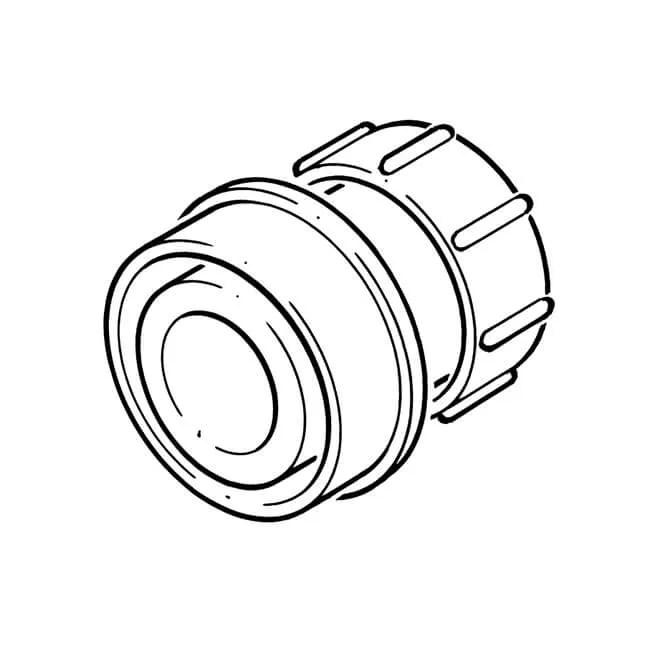 Soil Boss Angled Adaptor Solvent 32mm x 92.1/2° 12989