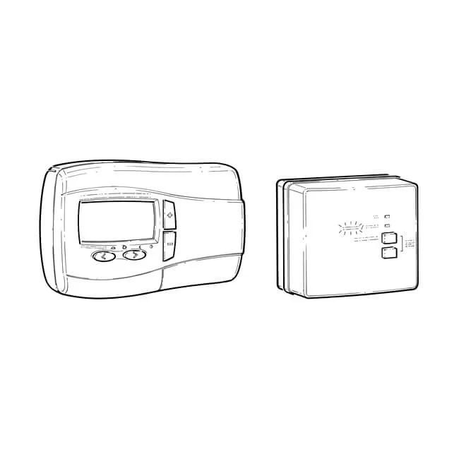 Drayton Digistat+3RF Wireless Digistat Room Thermostat