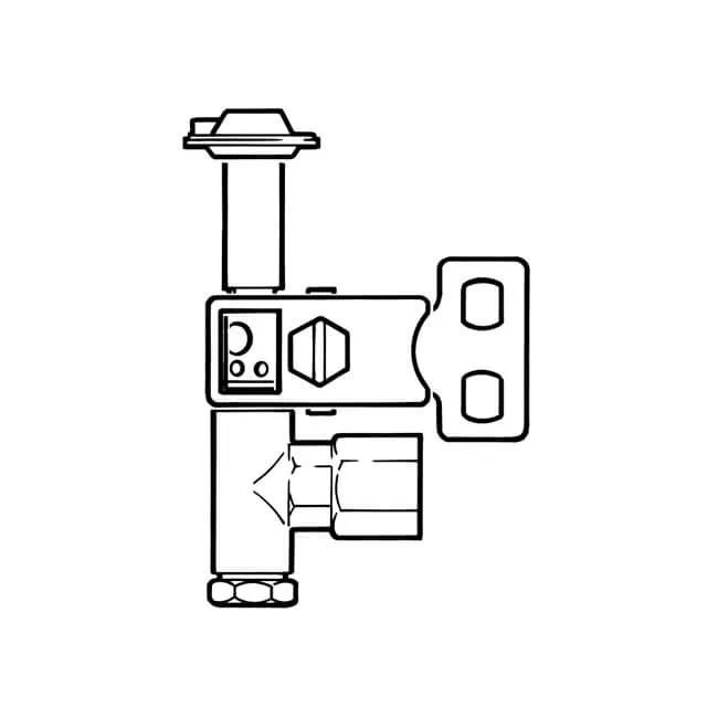 Pilot Burner Two-way Side Natural Gas & LPG 4mm or 6mm