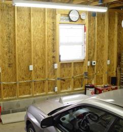 wiring fluorescent lighting in garage [ 1024 x 768 Pixel ]