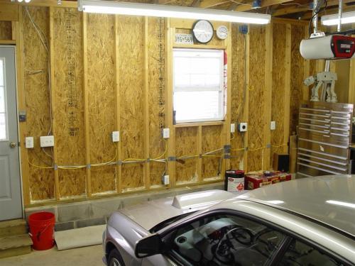 small resolution of wiring fluorescent lighting in garage