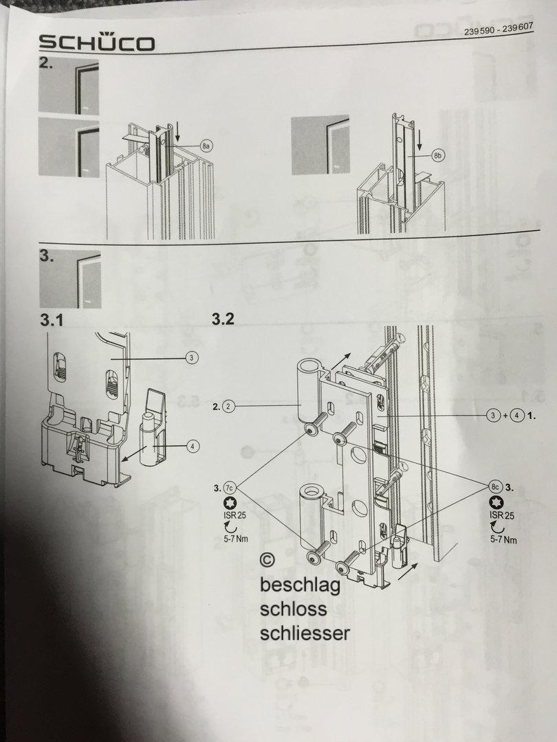 SCHCO 239 596 Rollentrband  3 teilig  Farbe C0