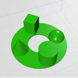 3D Druck Muster Bild
