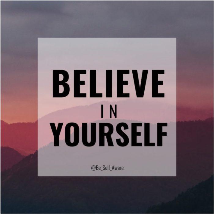 BSA 9 believe in yourself