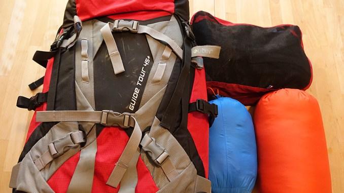 matériel rando, que prendre en randonnée, gr 10, pyrénnées