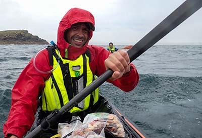 kayak groenland baie de disko