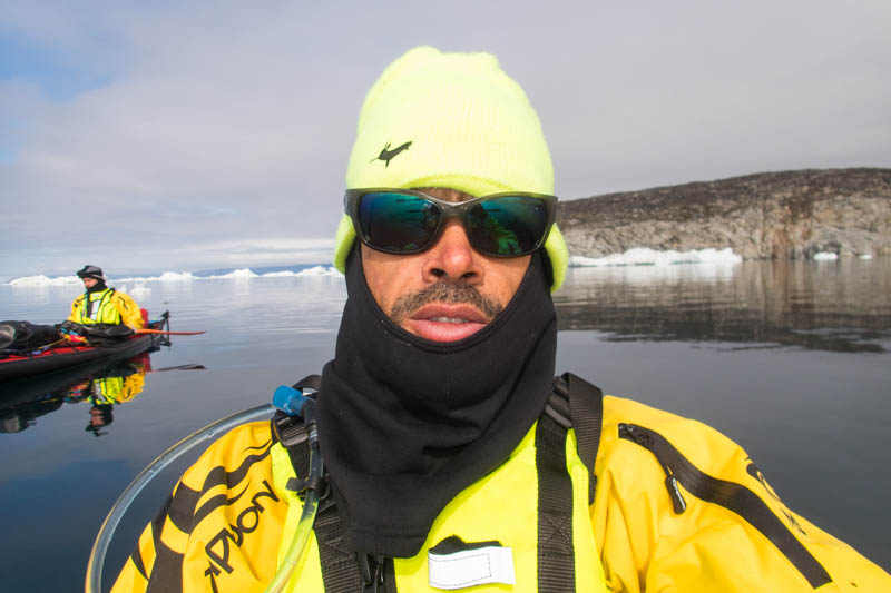 randonnée kayak baie de disko groenland