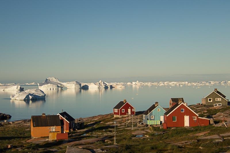 Expédition kayak baie de disko Groenland