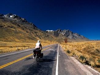voyage à vélo - altiplano