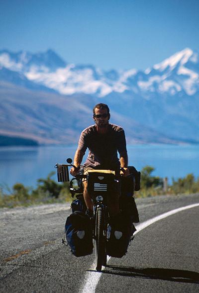 tour du monde à vélo lac tekapo