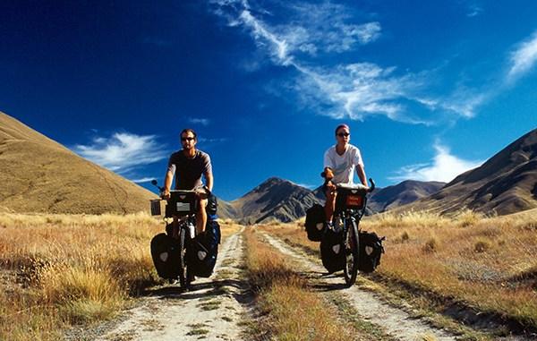 tour du monde à vélo nouvelle zélande