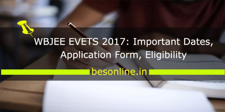 WBJEE EVETS 2017
