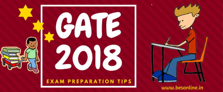Gate 2018_Exam Preparation Tips