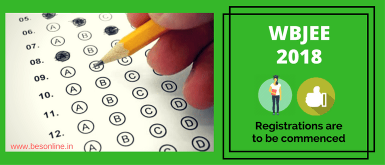 WBJEE Registrations 2018