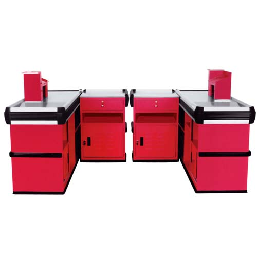 Checkout Counter Reasonable Price Cashier Desk Beson Metal