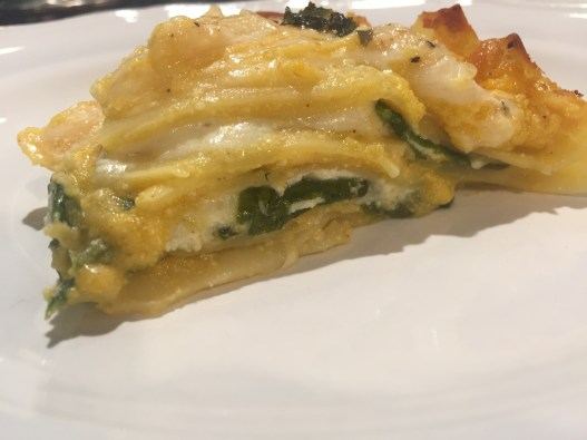 Butternut Squash and Spinach Lasagna 4