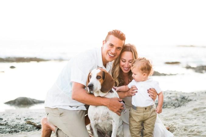 beach family shoot