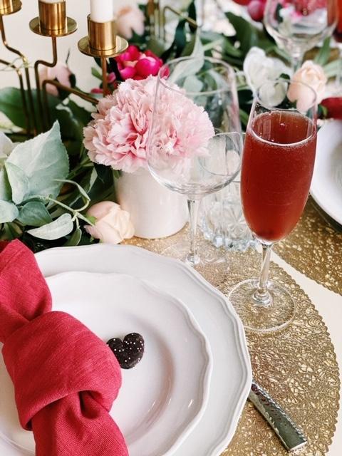 pear pomegranate champagne cocktail recipe