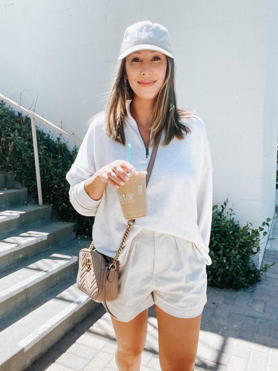 half zip sweatshirt september favorites