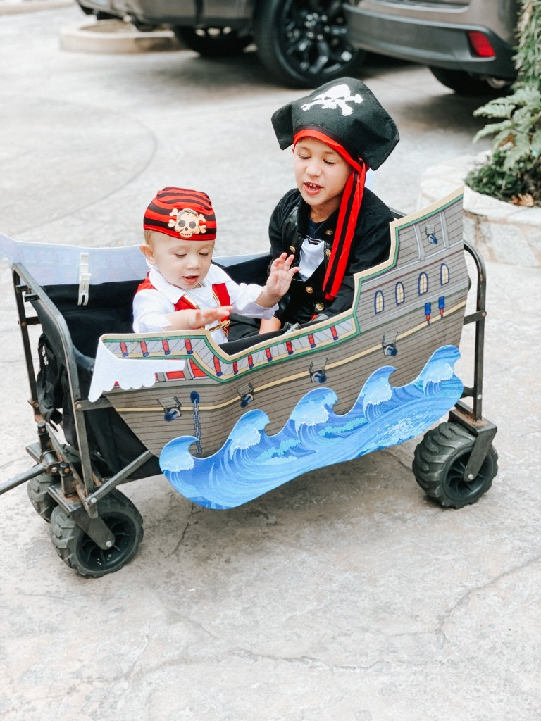 easy trick or treating with baby