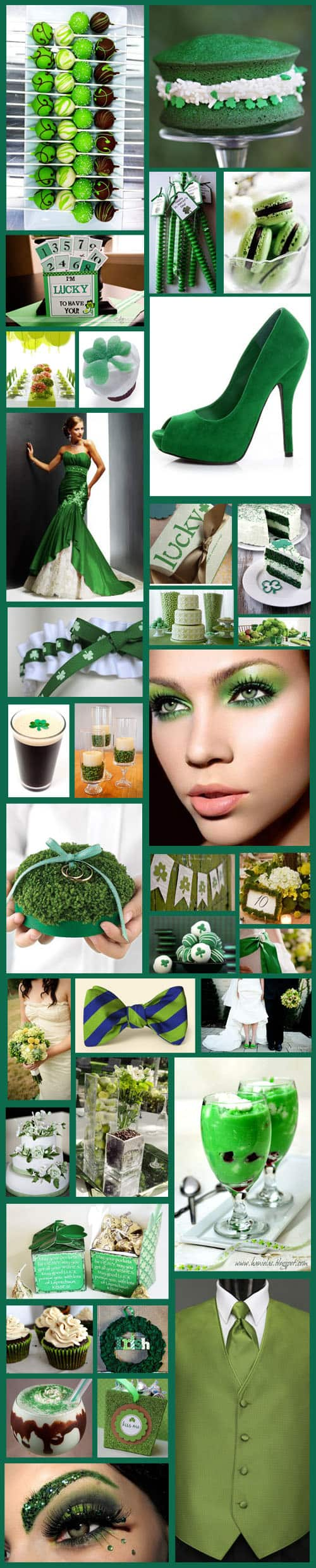 Inspiration Board St Patricks Day