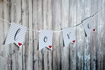 Design Happens Free Printable Love Banner 47