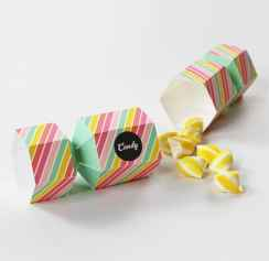 Eat Drink Chic Free Printable Candy Favor Box 7