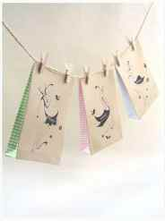Eat Drink Chic Free Printable favour Bags