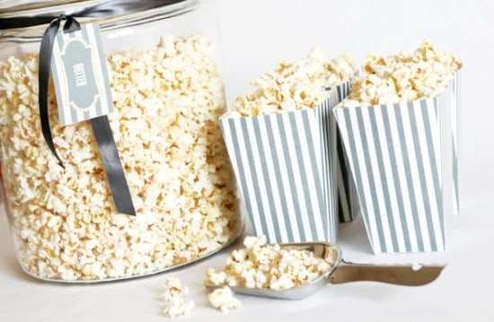 One Charming Party Free Printable Popcorn Boxes 36