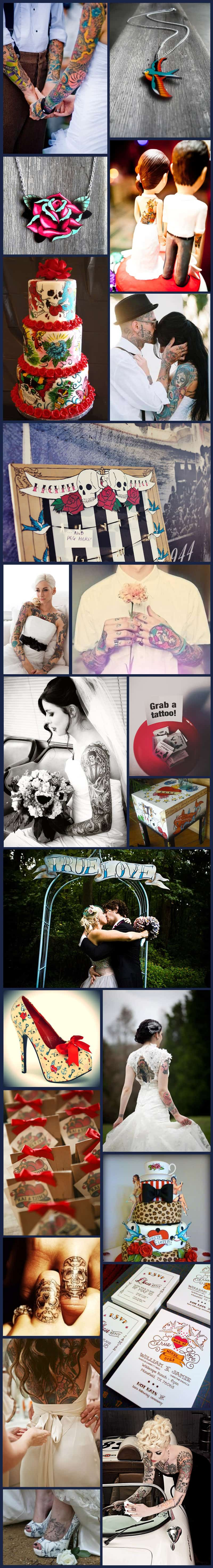 Tattoo and Ink inspiration board