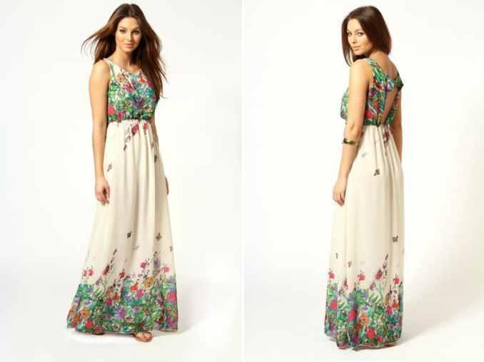Image Result For Blue Print Maxi Dress