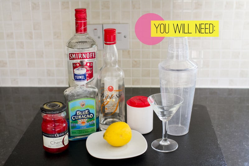 Blue Monday Cocktail You Will Need
