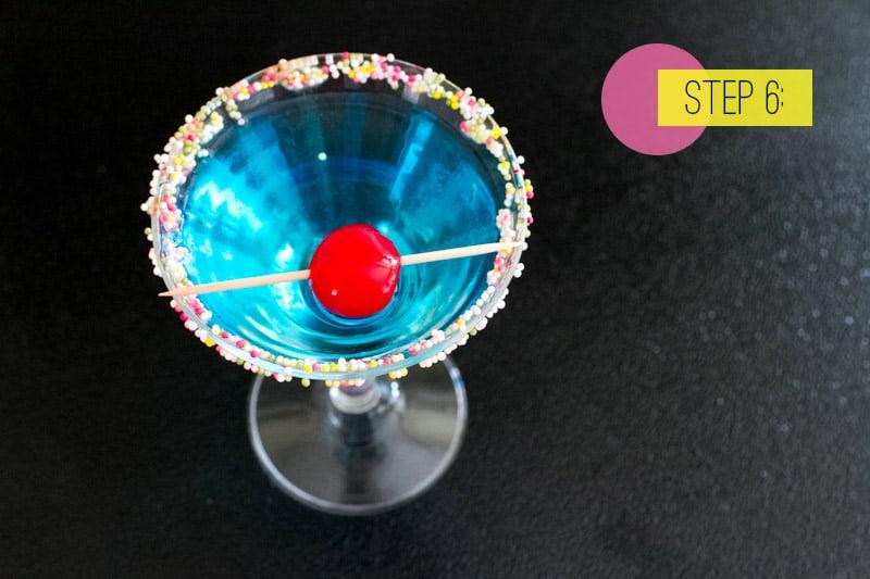 Blue Monday Cocktail6