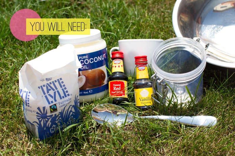 DIY Coconut Vanilla Body Scrub You Will Need