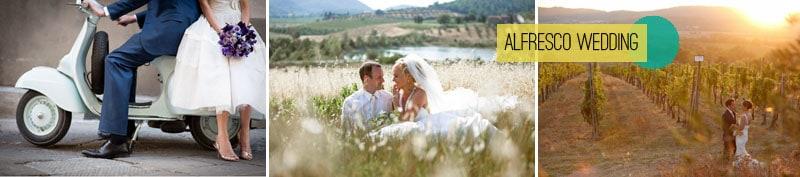 Alfresco Wedding