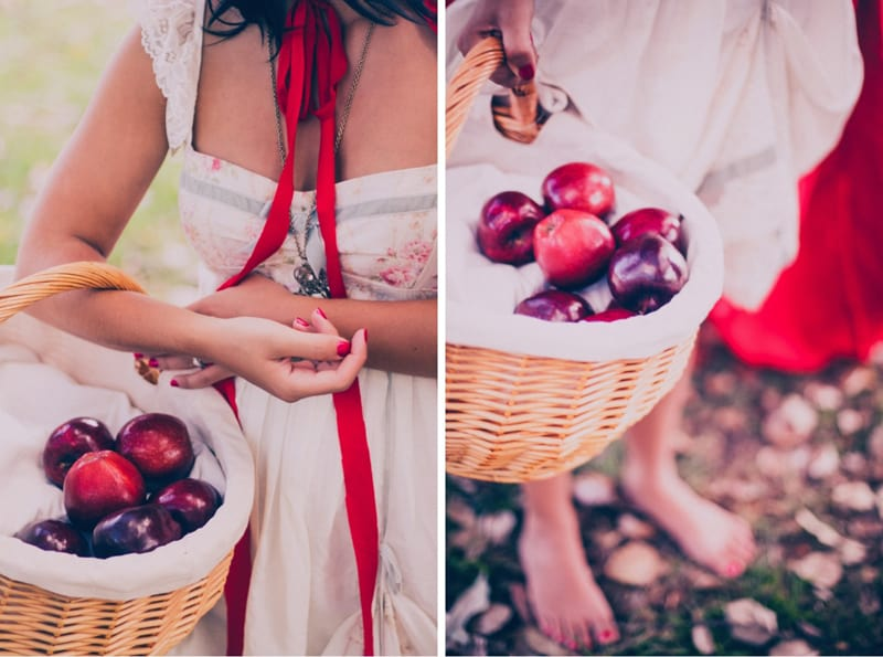 Red Riding hood engagement