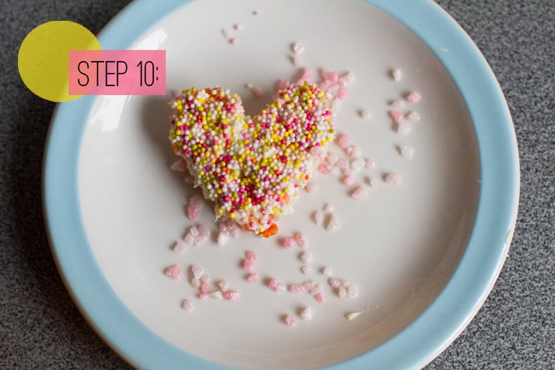 Rice Krispie Heart Cookie-13