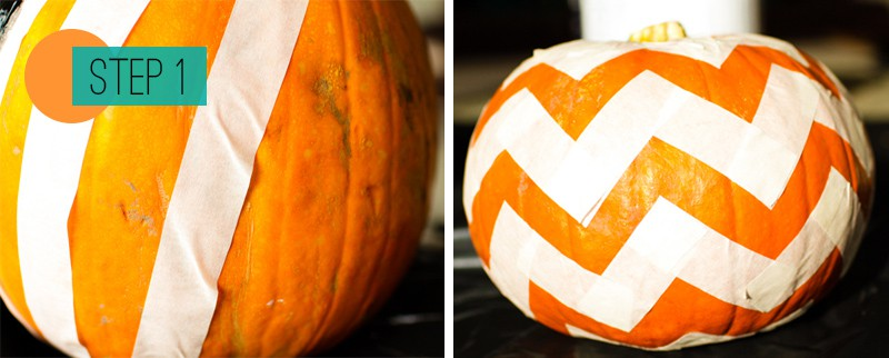 DIY Pumpkin painting home crafts trick or treat decoration 1