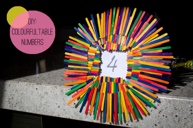 Table Number Lollipop Sticks-7