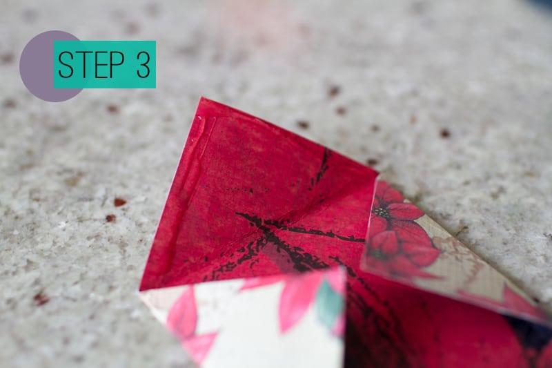 Diy How To Make A Christmas Advent Calendar With Envelopes 4