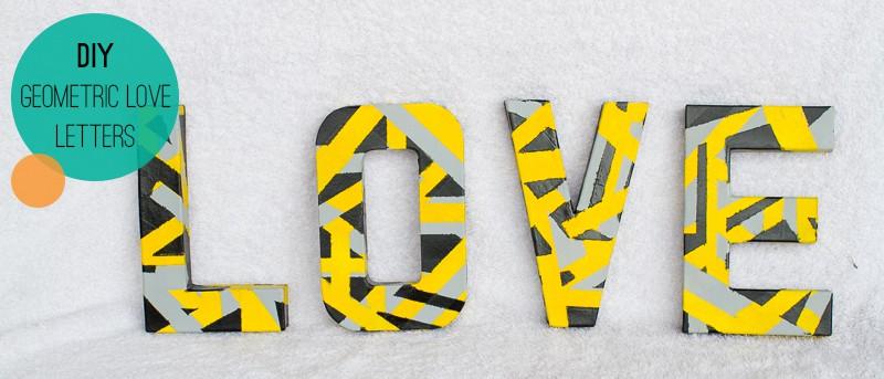 Geometric Love Letters Main
