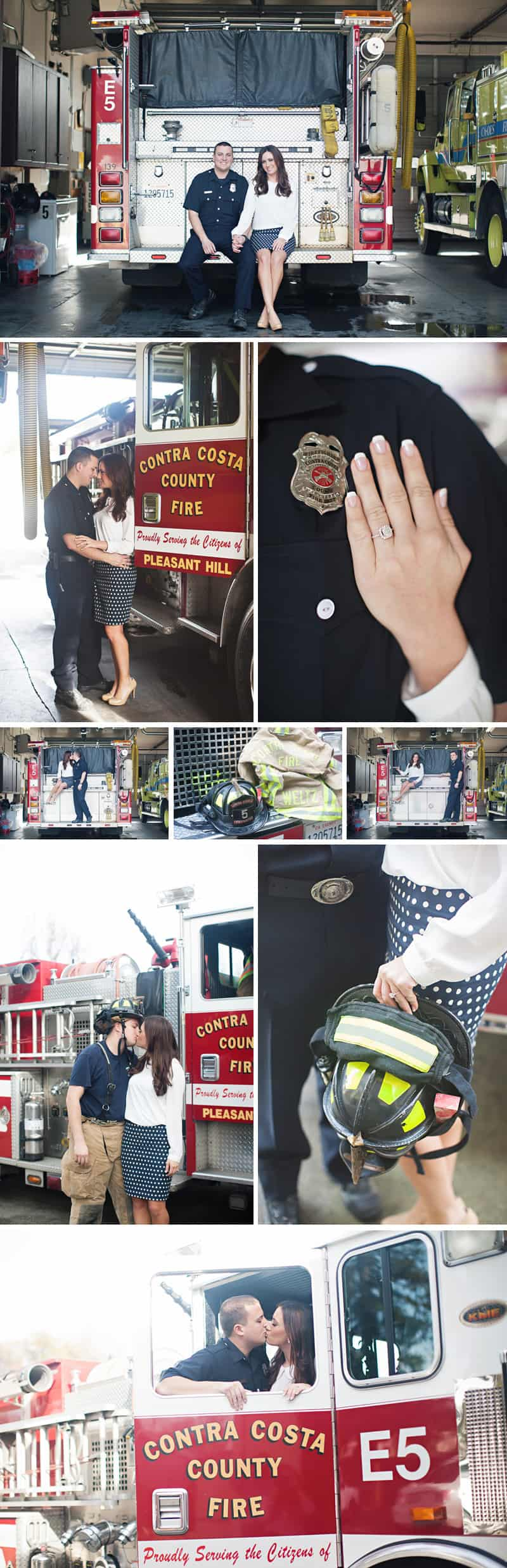 A Firehouse Engagement Sarah Tyler Photography
