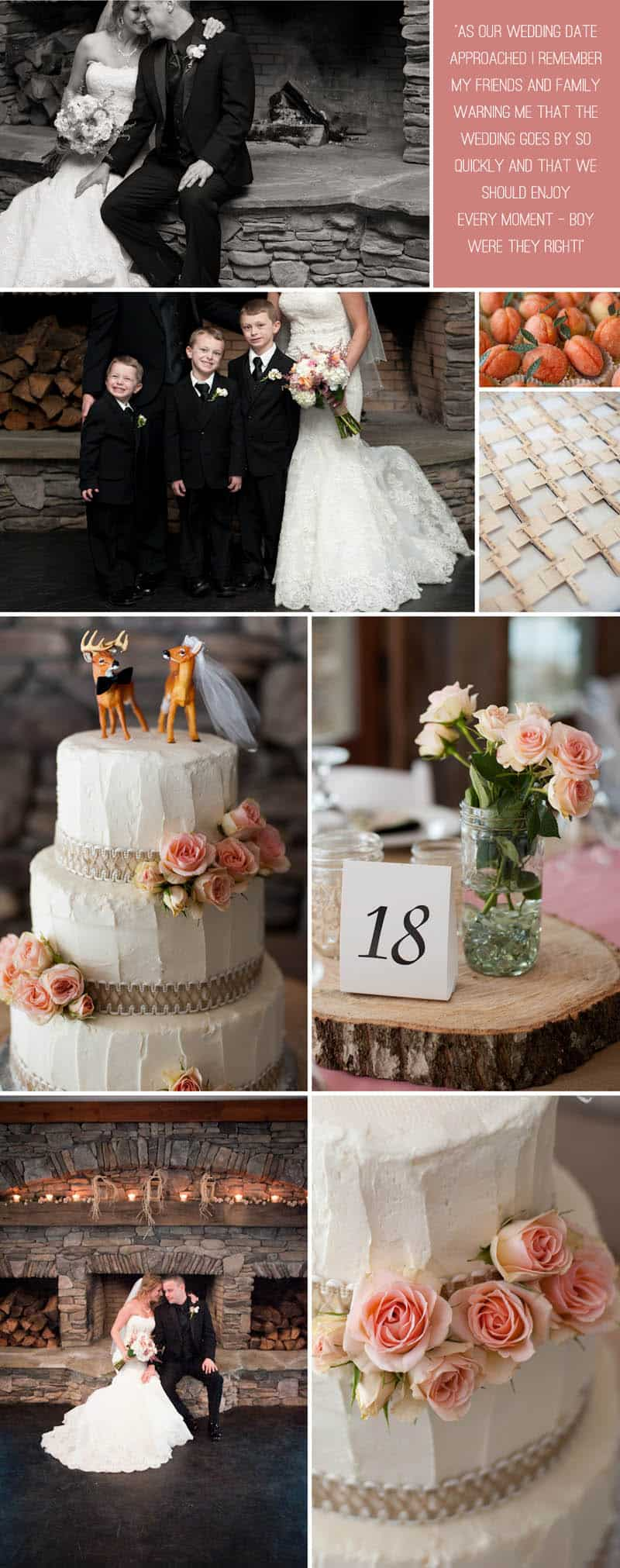 A Rustic Winter Wedding 5