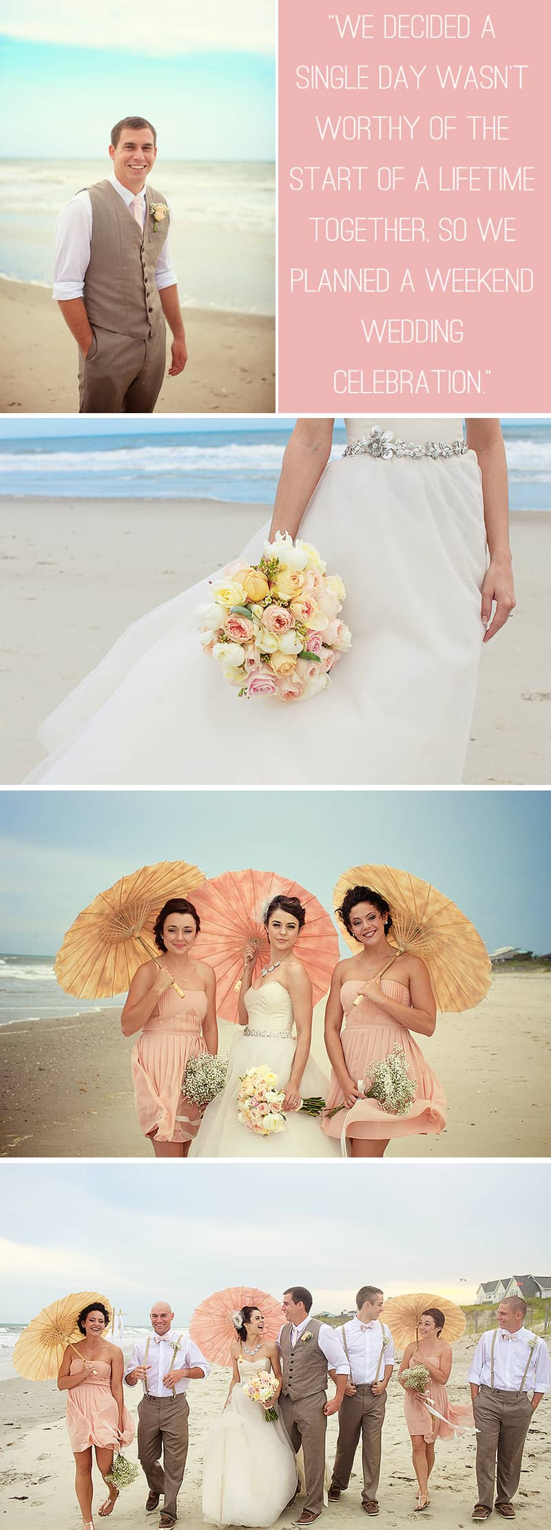 An Intimate Beach Wedding 2