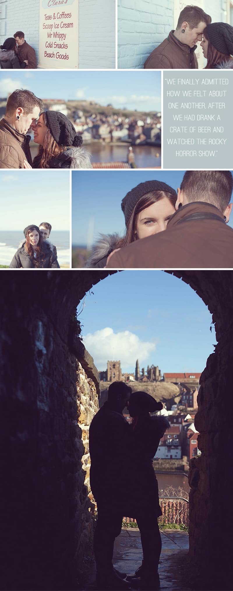 A Whitby Pier Engagement