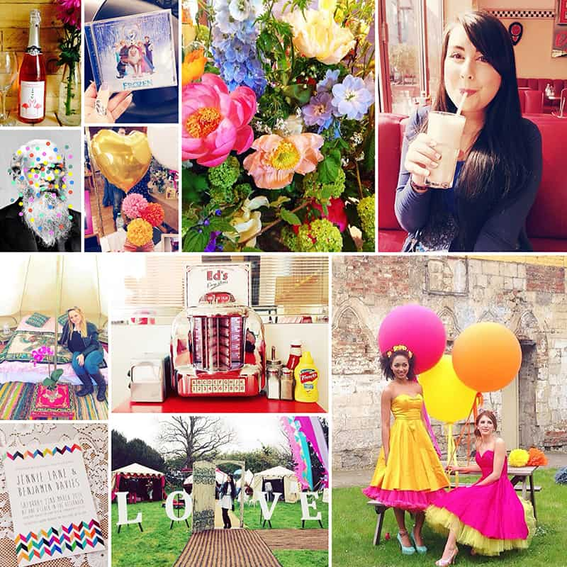 Bespoke Bride Instagram Fun